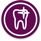 icono de blanqueamiento dental