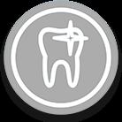 icono gris de blanqueamiento