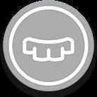 icono gris de protesis